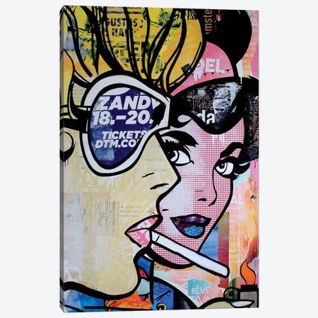 Satisfaction Kills Desire 3-Piece Canvas #MGF57} by Michiel Folkers Canvas Print