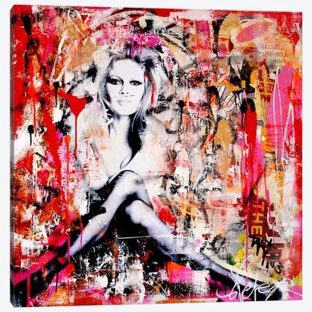 Brigitte Is In St.Tropez Again II Canvas Print #MGF5} by Michiel Folkers Canvas Artwork