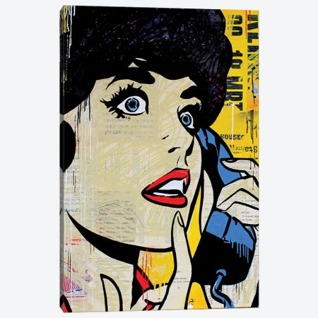 Don't Call Me, Baby Canvas Print #MGF65} by Michiel Folkers Canvas Artwork