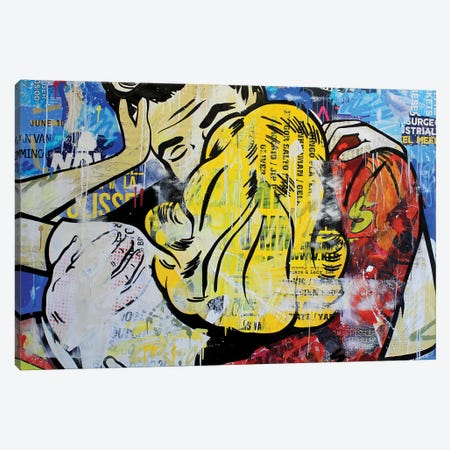 Midnightlove Canvas Print #MGF70} by Michiel Folkers Canvas Art