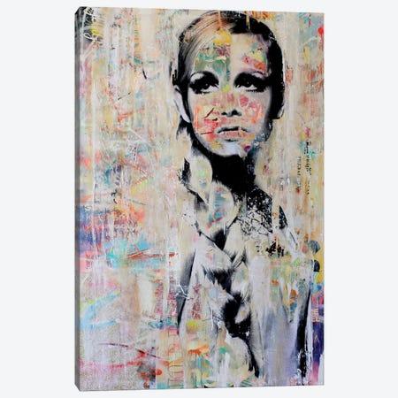 Twiggy Canvas Print #MGF73} by Michiel Folkers Canvas Art