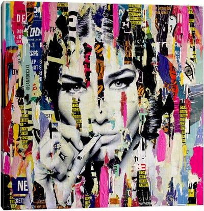 Carla Bruni Is Smoking Hot I Canvas Art Print