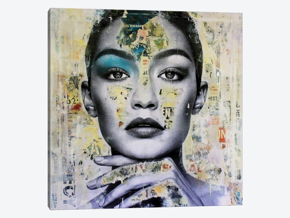 Gigi Hadid by Michiel Folkers 1-piece Canvas Artwork