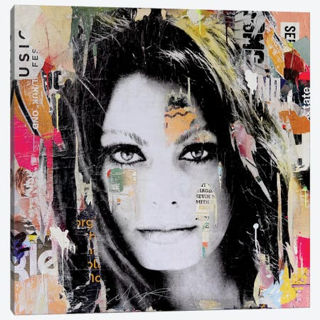 Sophia Loren Canvas Print #MGF93} by Michiel Folkers Canvas Artwork