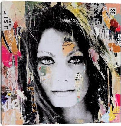 Sophia Loren Canvas Art Print
