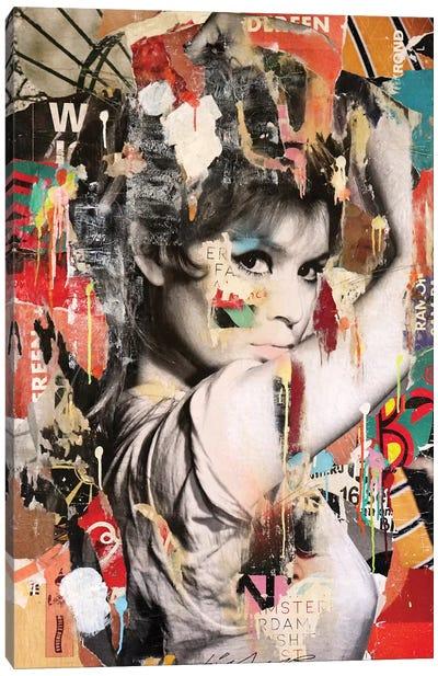 Brigitte Bardot II Canvas Art Print