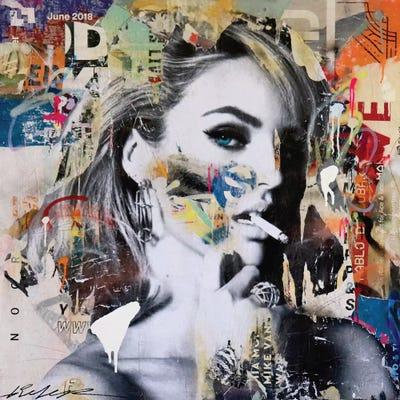 CANVAS Candice Swanepoel Art print POSTER