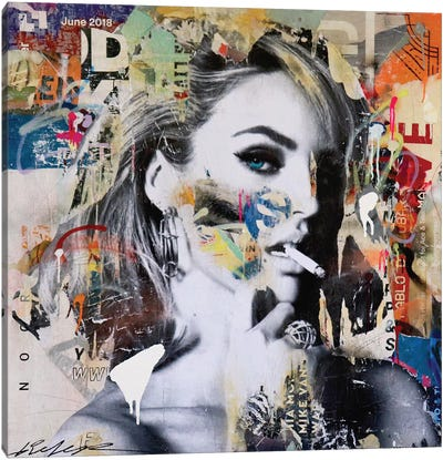 Candice Swanepoel Canvas Art Print