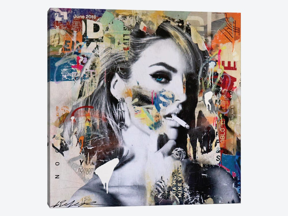 Candice Swanepoel by Michiel Folkers 1-piece Canvas Art Print