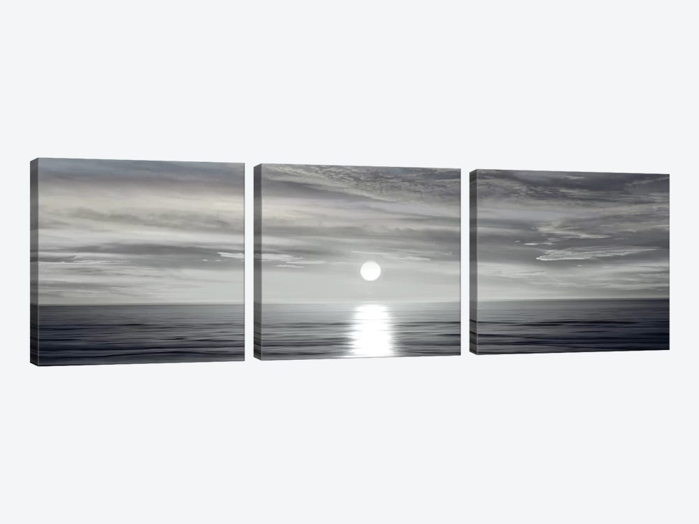 Sunlit Horizon I by Maggie Olsen 3-piece Art Print