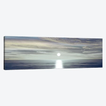 Sunlit Horizon II Canvas Print #MGG13} by Maggie Olsen Art Print