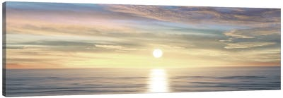 Sunlit Horizon III Canvas Art Print
