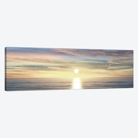 Sunlit Horizon III Canvas Print #MGG14} by Maggie Olsen Canvas Art