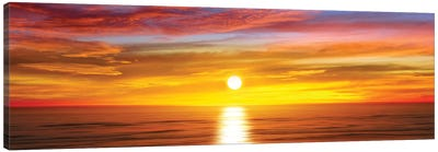 Sunlit Horizon IV Canvas Art Print