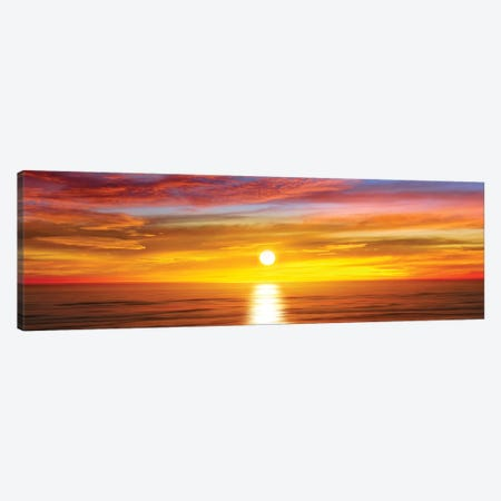 Sunlit Horizon IV Canvas Print #MGG15} by Maggie Olsen Canvas Wall Art