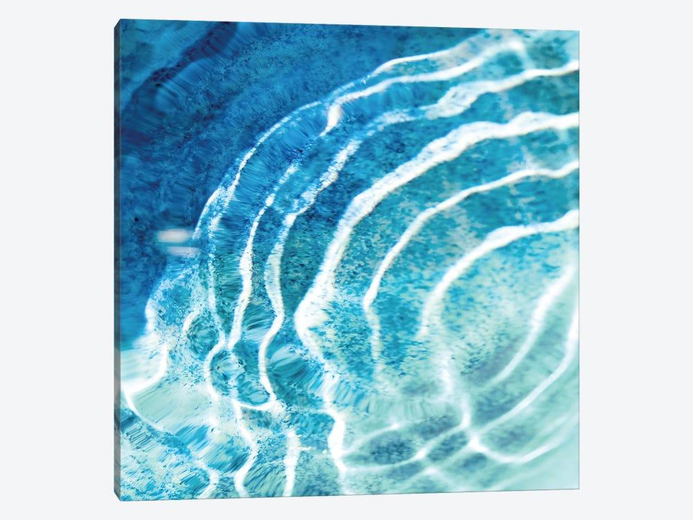 Aqua Ripple Reflection III by Maggie Olsen 1-piece Canvas Wall Art