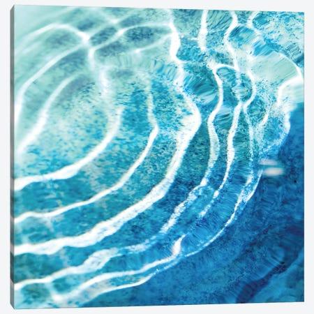 Aqua Ripple Reflection IV Canvas Print #MGG20} by Maggie Olsen Canvas Wall Art