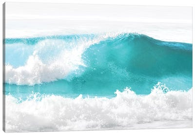Aqua Wave I Canvas Art Print
