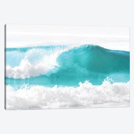 Aqua Wave I Canvas Print #MGG21} by Maggie Olsen Canvas Art