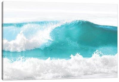 Aqua Wave I Canvas Art Print