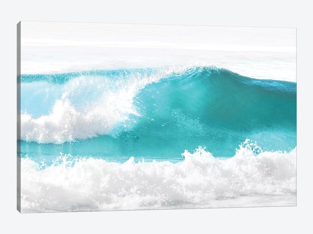 Aqua Wave I by Maggie Olsen 1-piece Canvas Art Print