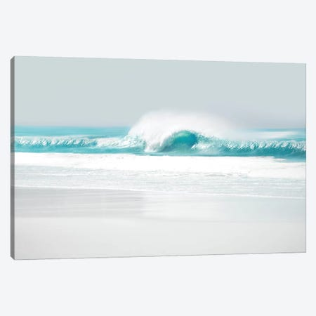 Aqua Wave II Canvas Print #MGG22} by Maggie Olsen Canvas Art