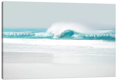 Aqua Wave II Canvas Art Print