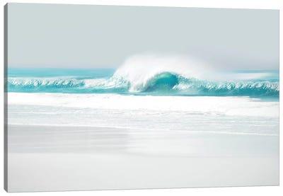 Aqua Wave II Canvas Art Print