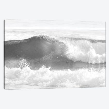 Black & White Wave I Canvas Print #MGG23} by Maggie Olsen Canvas Artwork