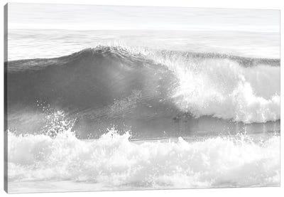 Black & White Wave I Canvas Art Print