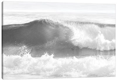 Black & White Wave I Canvas Art Print