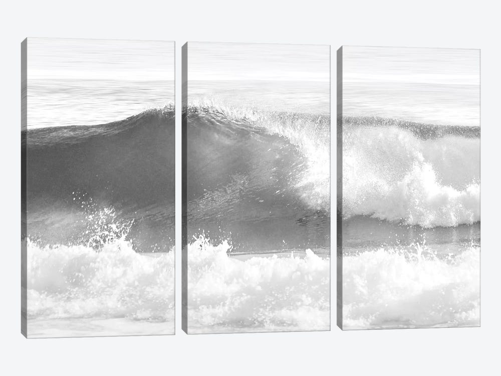 Black & White Wave I by Maggie Olsen 3-piece Art Print