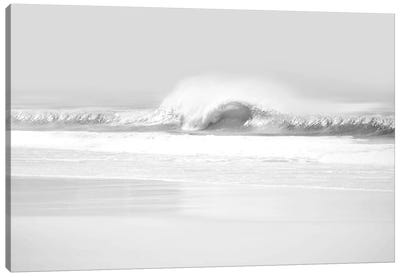 Black & White Wave II Canvas Art Print