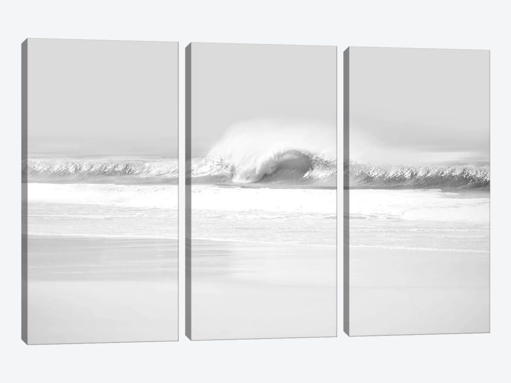 Black & White Wave II by Maggie Olsen 3-piece Canvas Wall Art