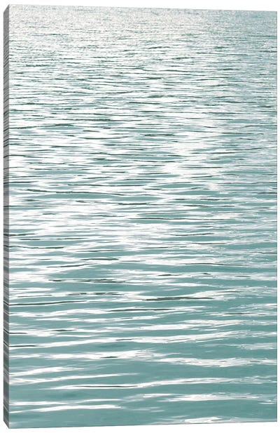 Ocean Current Aqua I Canvas Art Print