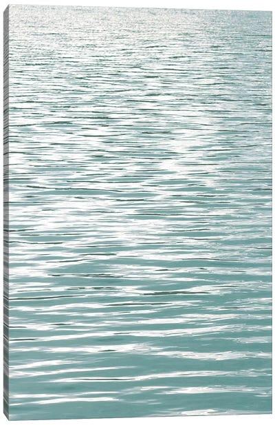 Ocean Current Aqua I Canvas Art Print