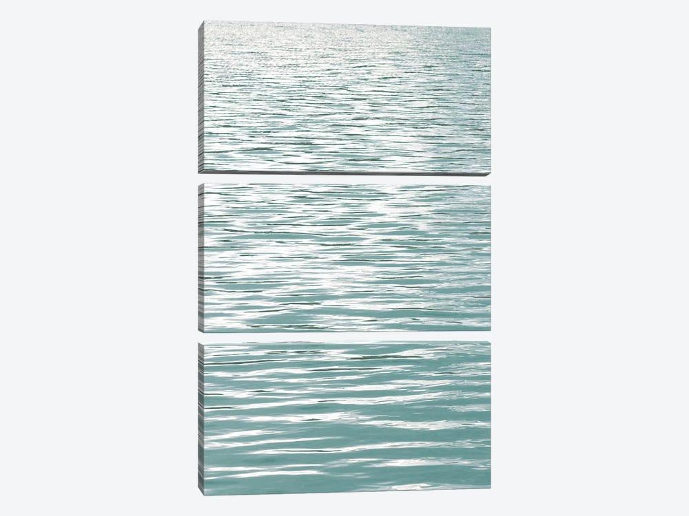 Ocean Current Aqua I by Maggie Olsen 3-piece Canvas Art Print