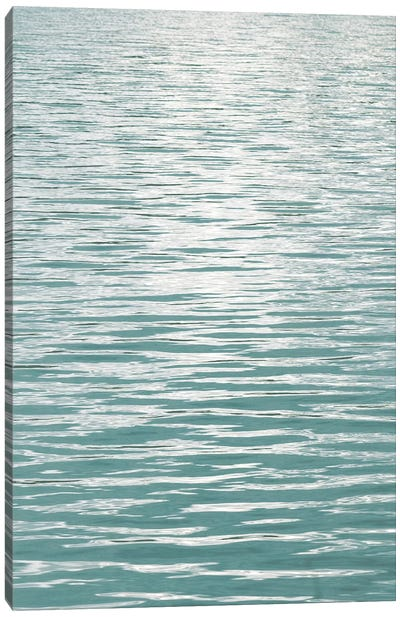 Ocean Current Aqua II Canvas Art Print