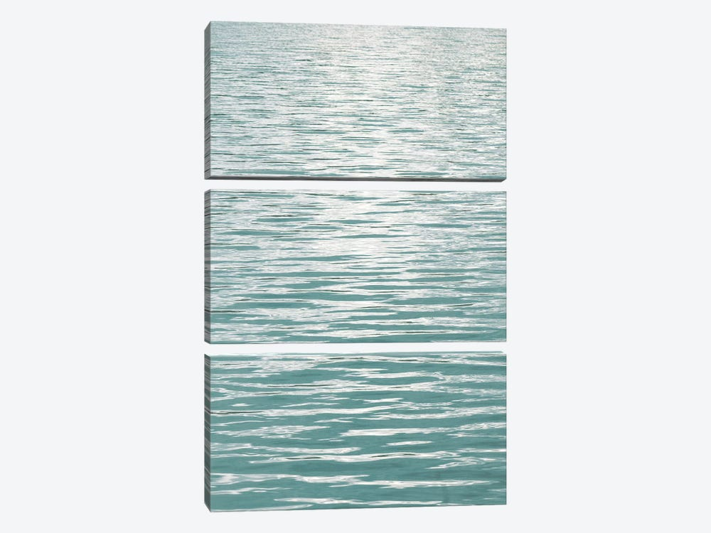 Ocean Current Aqua II by Maggie Olsen 3-piece Canvas Art