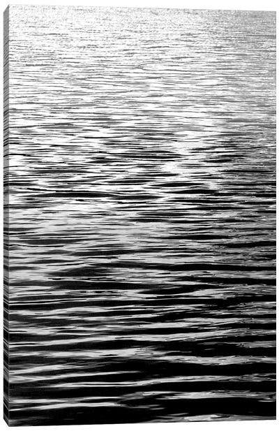 Ocean Current Black & White I Canvas Art Print