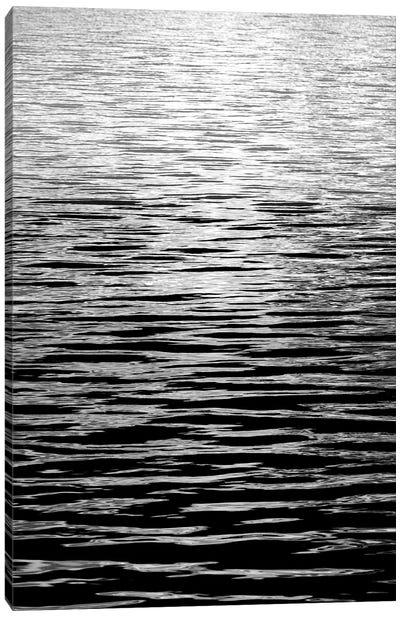 Ocean Current Black & White II Canvas Art Print