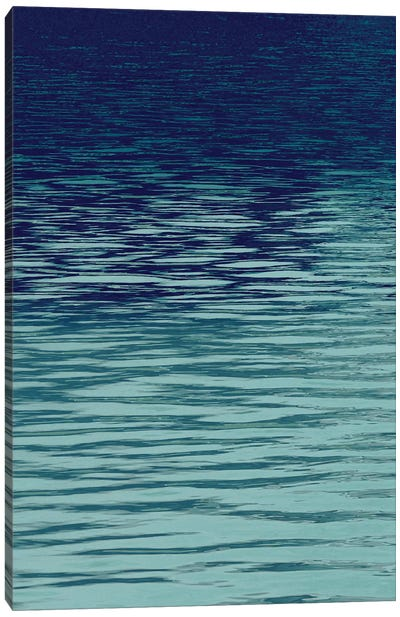 Ocean Current Blue I Canvas Art Print