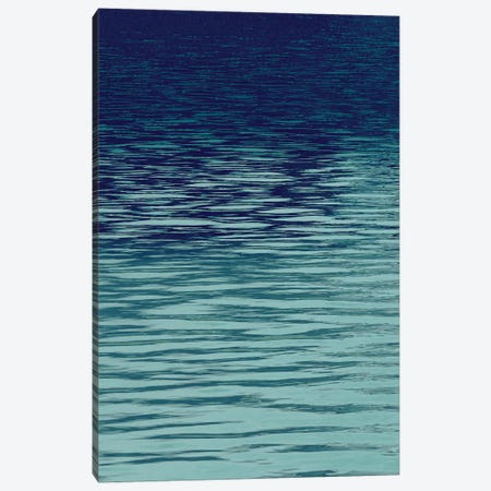 Ocean Current Blue I Canvas Print #MGG29} by Maggie Olsen Canvas Artwork