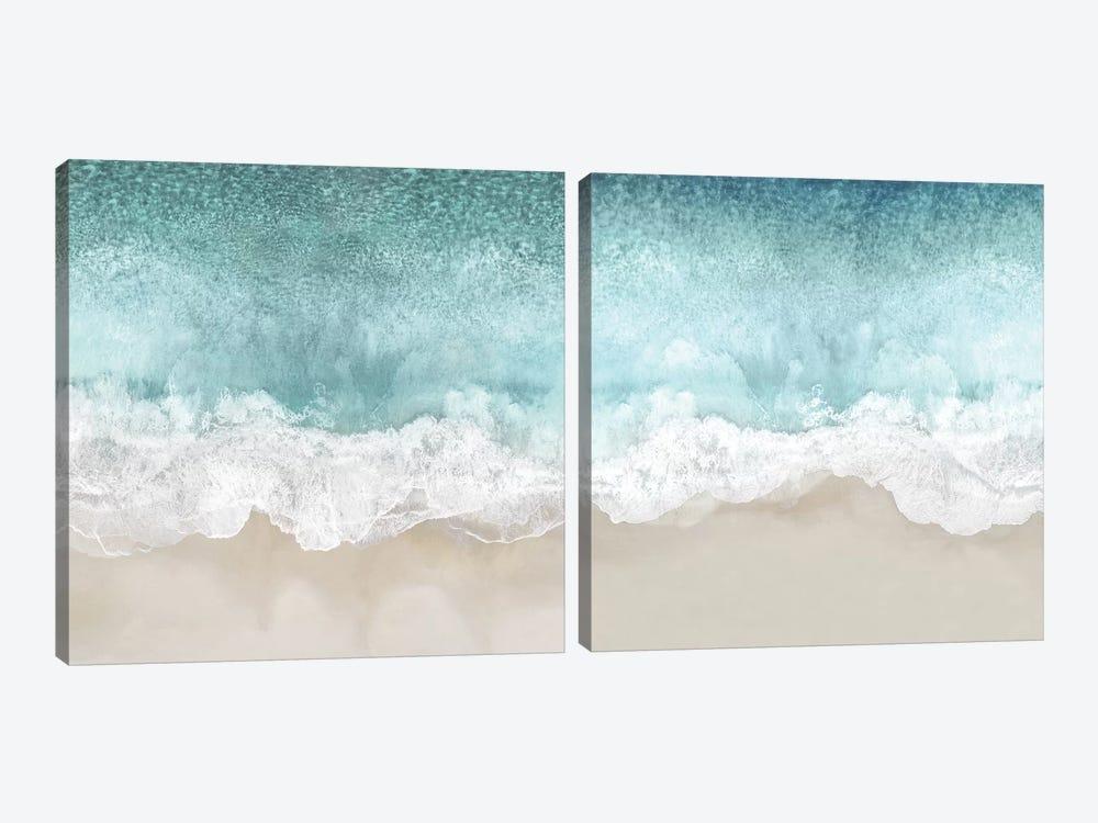 Ocean Waves Diptych by Maggie Olsen 2-piece Canvas Artwork