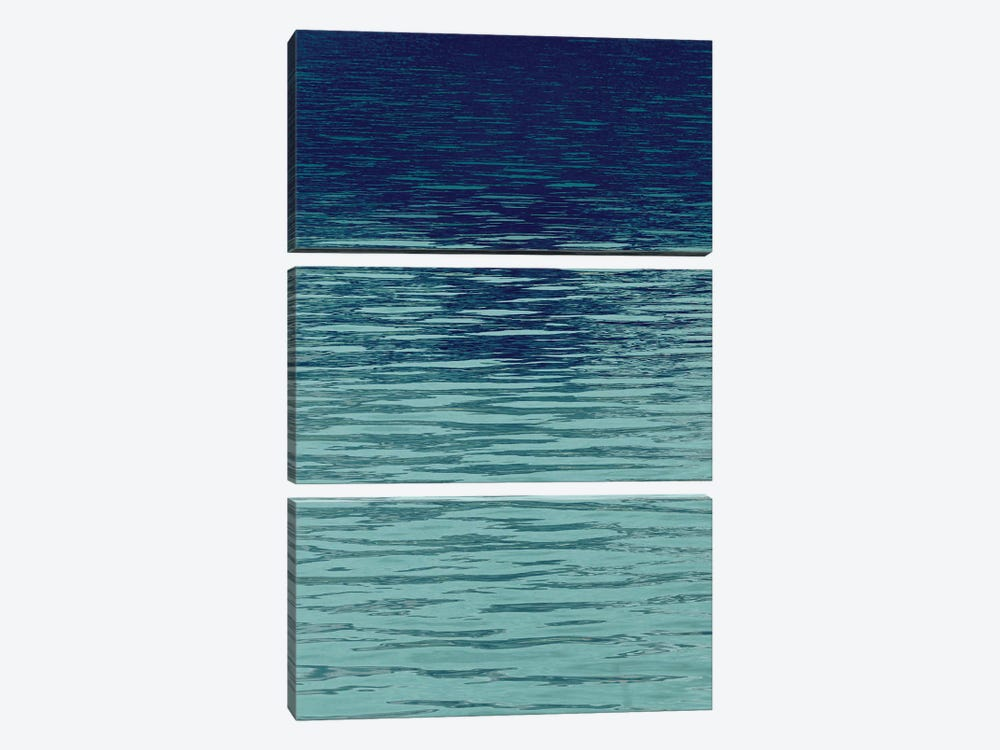 Ocean Current Blue II by Maggie Olsen 3-piece Canvas Art Print