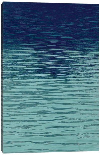 Ocean Current Blue II Canvas Art Print