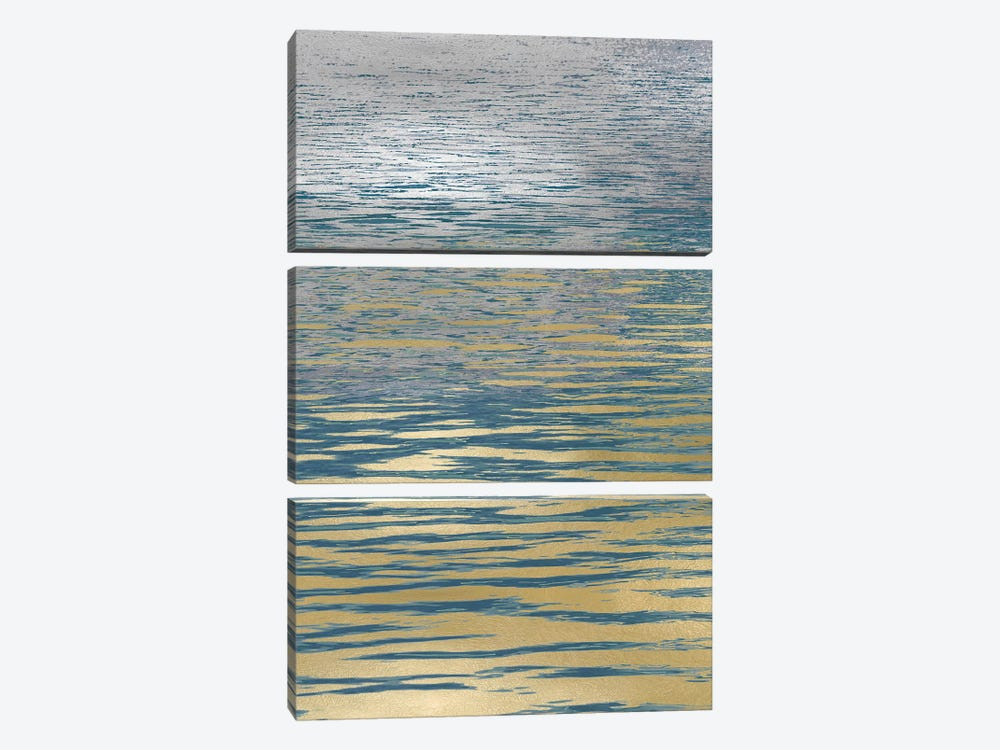 Ocean Current Reflection I by Maggie Olsen 3-piece Canvas Art