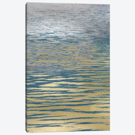 Ocean Current Reflection I 3-Piece Canvas #MGG33} by Maggie Olsen Canvas Print