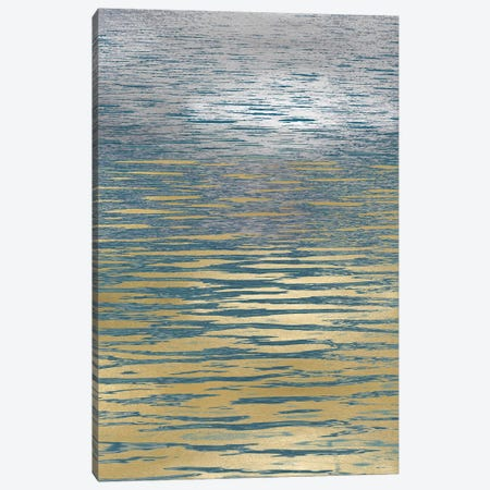 Ocean Current Reflection II Canvas Print #MGG34} by Maggie Olsen Canvas Artwork
