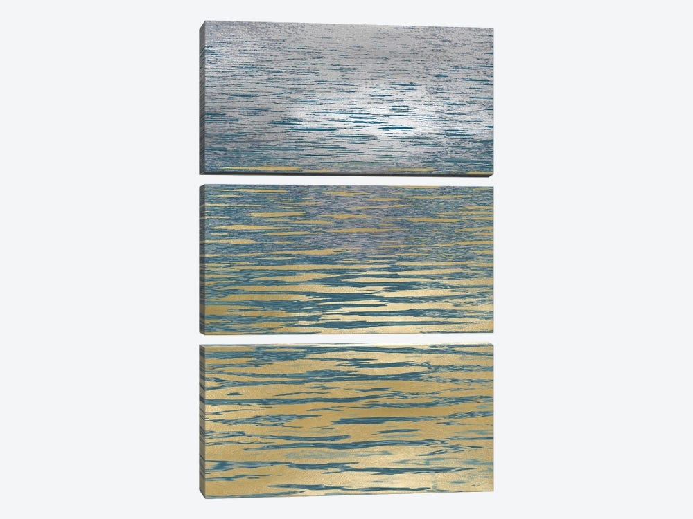 Ocean Current Reflection II by Maggie Olsen 3-piece Canvas Art Print